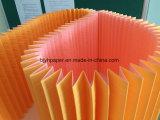 Le filtre à air du papier fait des importations de la pâte de bois