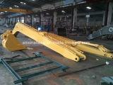 Crescimento & braço longos padrão do alcance das peças sobresselentes da máquina escavadora com a cubeta para as peças de maquinaria da construção