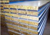 El panel de emparedado incombustible aislado de Rockwool para la casa prefabricada