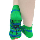 100%Cotton Highquality Sport Five Finger Trampoline Socks