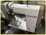 Usada agulha única Cama Post máquina de costura de alimentação de rolo movido (CS-8810)