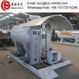 2t~3t充填機が付いている移動式LPGの給油所5-10cbm LPGのガスの満ちるプラント