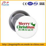 De alta calidad personalizado Insignia de metal ¡Feliz Navidad!