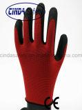 Перчатки деятельности/безопасности Crinkle латекса