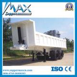 2 Hydraulische de Aanhangwagen van de Kipper van de as (aanhangwagen)