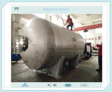Reator de coluna de reservatório de tanque de pressão de resfriamento de aço inoxidável