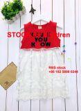 Vestito dolce dagli stock del vestito da estate della ragazza di Dollor di prezzi bassi 2.35