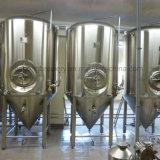 cuba de fermentación de cerveza 600L con camisa de refrigeración