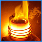 Einsparung-Energie-Induktionsofen für schmelzendes Aluminium (JLZ-70)