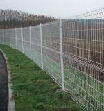 庭の安全によって溶接される三角形の曲がる網の塀のパネル