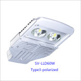60W IP66 LED Outdoor Street Light con 5-Year-Warranty (Polarized)