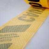 Высокая видимость желтого цвета PE барьер лента сигнальная лента внимание ленту