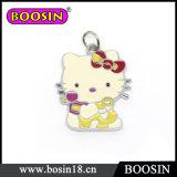 El metal de encargo del gatito lindo del hola de Sooo hizo la venta al por mayor del encanto del gato