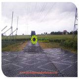 Bewegliches schwarzes HDPE temporäres Trackways für Technik-Projekt