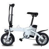 Vente en gros scooter se pliant électrique de vélo de 12 pouces avec l'éclairage LED