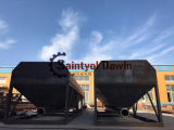 40トンからの販売の100トンへのカスタマイズされた水平のセメント・サイロ