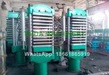 기둥 구조 수압기를 치료하는 고무 가황 기계 격판덮개