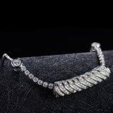 De nieuwe Armband van de Dames van het Witgoud van het Ontwerp Jonge met de Volledige Steen van CZ