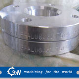 Bride en aluminium de cou de soudure d'ajustage de précision de la bride B241