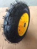 Аграрное колесо тачки верхнего качества 4.00-8 инструментов