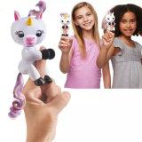 Reizende mini interaktive Spielwaren-Finger-Einhorn-Spielwaren