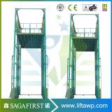 Piattaforma all'aperto verticale dell'elevatore del carico