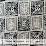 As rendas líquidas geométrica de algodão de nylon Fabric (M3421)