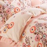 2017 neue Entwurfs-Baumwolle 100% aufgetragene Gewebe-reagierende Druck-Bettwäsche