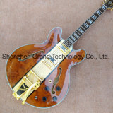 Maple Top Es335 corpo oco Archtop Guitarra Jazz (TJ-244)