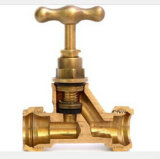 Qualidade personalizada Brass Forged Compression Stop Ball Valve (AV2013)