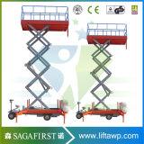 plate-forme de levage de ciel montée par camion aérien 14m hydraulique de 12m