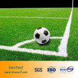 Relvado para o campo de esporte, relvado da falsificação da boa qualidade do esporte, relvado do futebol, relvado do futebol