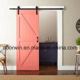 Chambres insonorisées de portes intérieures porte coulissante avec de gros Haut voie