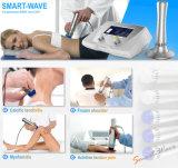 Testimonial di terapia di onda d'urto per rilievo di dolore delle spalle