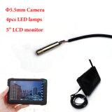Камера осмотра трубы Endoscope 5.5mm оптовой цены медицинская миниая с Handheld монитором 5 дюймов