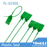De plastic Verbindingen van de Veiligheid Contanier met het Nylon Sluiten van het Tussenvoegsel