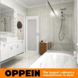 Moderner hoher Glanz-weißer Lack-Badezimmer-Eitelkeits-Schrank (OP16-Villa01BV2)