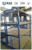Recipientes de armazenamento do armazém/engranzamento de fio com rodas
