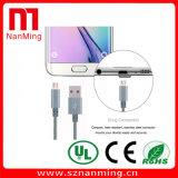 Кабель USB V8 микро- Nylon для Samsung ---- Серо