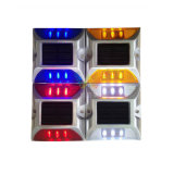 LED rouge LED en aluminium à solaire Powered Road Stud Reflector