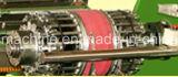 SprungTurn-upgummireifen-Maschine für grünen Gummigummireifen ausmachen