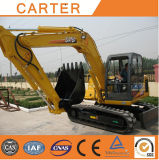 Excavador hidráulico caliente de la retroexcavadora de la correa eslabonada de las ventas CT85-8b (8.5Tonne)
