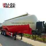 acoplado concreto del tanque del polvo del cemento 40cbm del petrolero del acoplado a granel semi