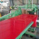 Qualidade elevada 15/7 Mícron Prepainted materiais de revestimentos betumados da bobina de aço