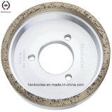 ガラスエッジングのための金属のダイヤモンドのコップの粉砕車輪