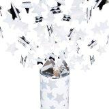 Konfetti-Shooter Silber, Party Popper Konfettikanone Konfettishooter Streamer Hochzeit, fiesta, Geburtstag, Silvester