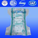 Couches pour bébés jetables pour les produits de bébé avec du coton couches couche (H421)