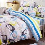 2017枚の最新のデザインによって印刷されるポリエステル寝具の寝具