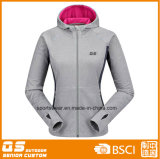 Revestimento de casaco esportivo de moda feminina