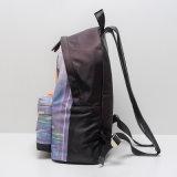 Sac de sac à dos décontracté en bambou en nylon noir (A072)